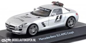 Mercedes-Benz SLS AMG Coupé - Safety Car (Zilver) (10 cm) 1/43 Schuco