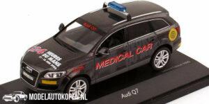 Audi Q7 - Safety Car Limited Edition 1/1000 (Grijs) (10 cm) 1/43 Schuco