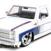 1985 Chevrolet C-10 (Wit) (20 cm) 1/24 JADA