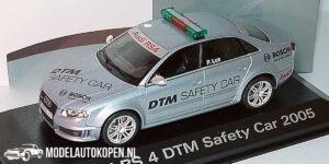 Audi RS 4 DTM Safety Car 2005 (Zilver) (10 cm) 1/43 MiniChamps