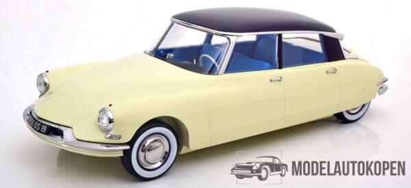 1959 Citroën DS19 (Champagne & Aubergine) (40 cm) 1/12 Norev Collectors [Limited Editon]