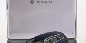 Renault Talisman Estate (Blauw) (10 cm) 1/43 Norev [Inclusief Luxe Showcase]