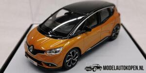 Renault Scenic (Oranje) (10 cm) 1/43 Norev [Inclusief Luxe Showcase]