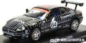 Maserati Coupé Trofeo 2004 (Zwart) (10 cm) 1/43 Atlas