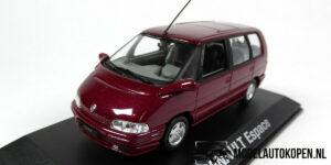 Renault 1991 Espace (Rood) (10 cm) 1/43 Norev