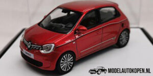 Renault Twingo (Rood) (8 cm) 1/43 Norev [Inclusief Luxe Showcase]