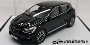 Renault Clio (Zwart) (8 cm) 1/43 Norev [Inclusief Luxe Showcase]