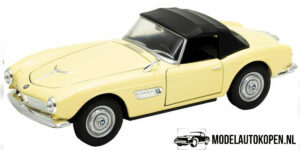 BMW 507 Closed Top (Crème) (20 cm) 1/24 Welly