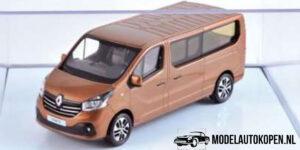 Renault Trafic (Bruin) (10 cm) 1/43 Norev [Inclusief Luxe Showcase]