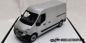 Renault Master III (Zilver) (10 cm) 1/43 Norev [Inclusief Luxe Showcase]