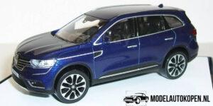 Renault Koleos (Blauw) (10 cm) 1/43 Norev [Inclusief Luxe Showcase]