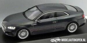 Audi A5 Coupé (Zwart) (10 cm) 1/43 Audi Collection Dealer model Spark