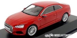 Audi A5 Coupé (Rood) (10 cm) 1/43 Audi Collection Dealer model Spark