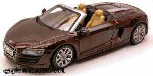 Audi R8 Spyder (20 cm) (Bruin) 1/24 Maisto