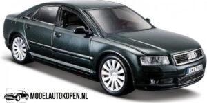 Audi A8 2003 (20 cm) (Donkergroen) 1/26 Maisto