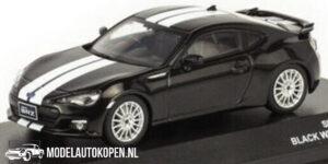 Subaru BRZ 2013 (Zwart) (10 cm) 1/43 J collection Kyosho