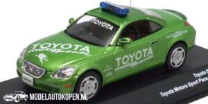 Toyota Soarer 2004 (1/1008pcs) (Groen) (10 cm) 1/43 J collection Kyosho
