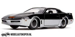 1982 Pontiac Firebird Knight Rider K.A.R.R. (Zwart) (10 cm) 1/32 JADA