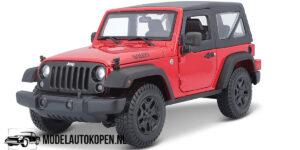 2014 Jeep Wrangler (Rood) (20 cm) 1/18 Maisto