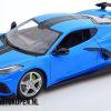 2020 Chevrolet Corvette Stingray Coupe (Blauw) (30 cm) 1/18 Maisto