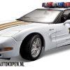 Corvette Z06 Politie (Wit) (22 cm) 1/18 Maisto