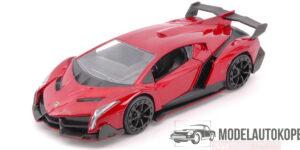 Lamborghini Veneno 2017 (Rood) (13 cm) 1/32 JADA