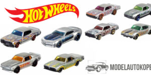 Hot Wheels 50th Anniversary - Set van 8 st. Assortiment (Multicolor) 1/64