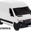 Mercedes-Benz Sprinter Bus (Wit) (10 cm) 1/36 Kinsmart