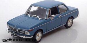 BMW 2002TI 1974 (Blauw) (20 cm) 1/24 Welly