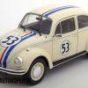 Volkswagen Beetle Racer #53 Herbie (Crème) (20 cm) 1/18 Solido