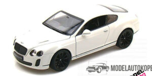 Bentley Continental Supersports (Wit) (22 cm) 1/24 Welly