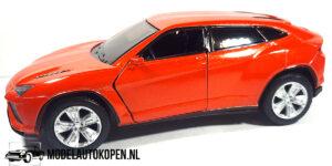 Lamborghini Urus (Oranje) (10 cm) 1/43 Kinsmart