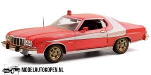 1976 Ford Gran Torino Starsky & Hutch (Rood) (20 cm) 1/24 Greenlight Limited Edition