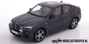 BMW X4 2015 (Donkergrijs) (30 cm) 1/18 Paragon Models