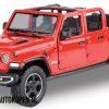2021 Jeep Gladiator Rubicon (Rood) (22 cm) 1/27 Motor Max