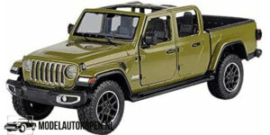 2021 Jeep Gladiator Overland (Groen) (22 cm) 1/27 Motor Max