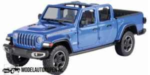 2021 Jeep Gladiator Rubicon (Blauw) (22 cm) 1/27 Motor Max
