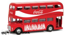 Coca-Cola London Bus (10 cm) (Rood) 1/43 Corgi