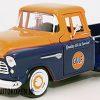 Chevrolet 5100 Stepside GULF (Blauw/Oranje) (20 cm) 1/24 Motor Max