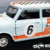 Morris Mini Cooper 1961-67 #6 GULF (Lichtblauw) (15 cm) 1/18 Motor Max