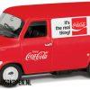 Coca-Cola Ford Transit MK1 (10 cm) (Wit/Rood) 1/43 Corgi