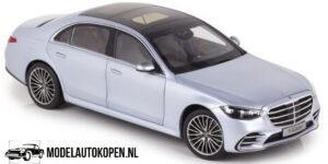 Mercedes-Benz S-Class 2021 (Zilver) (32 cm) 1/18 Norev [Mercedes-Benz AG]