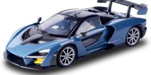McLaren Senna (Antraciet) (20 cm) 1/24 Motor Max