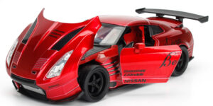 2009 Nissan GT-R (R35) Ben Sopra (Rood) (20 cm) 1/24 JADA