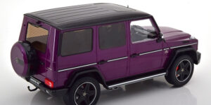 Mercedes-Benz G63 AMG Limited Edition 1/600pcs. (Paars) (30 cm) 1/18 iScale