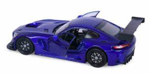 Mercedes-Benz AMG GT3 (Blauw) (20 cm) 1/24 Motor Max