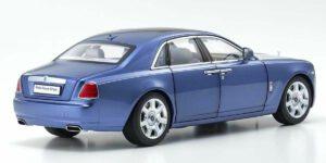 Rolls-Royce Ghost 2011 (Blauw/Zilver) (35 cm) 1/18 Kyosho