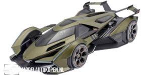 Lamborghini V12 Vision Gran Turismo 2021 (Groen) (30 cm) 1/18 Maisto Limited Edition