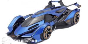 Lamborghini V12 Vision Gran Turismo 2021 (Blauw) (30 cm) 1/18 Maisto Limited Edition