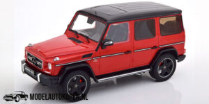 Mercedes-Benz G63 AMG Limited Edition 1/600pcs. (Rood) (30 cm) 1/18 iScale